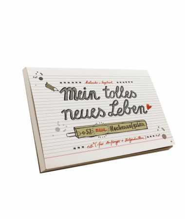 """Der zweite Kalender """"Mein tolles neues Leben"""" mit neuen Wochenaufgaben ..."""
