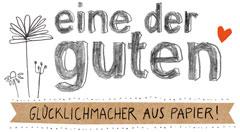 EINE DER GUTEN: Papeterie, Postkarten, Aufkleber, Kalender, Notizbücher-Logo