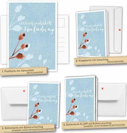 Hochzeitskarten,einladungskarten ,hochzeitseinladungen,blumen,aquarell,tusche,blau,geburtstagseinladung,