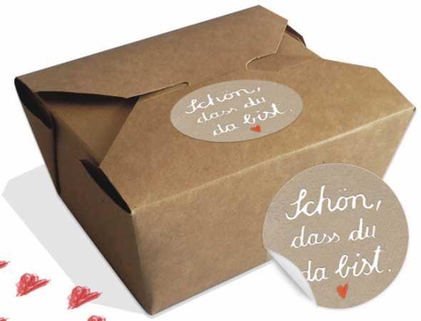 12 Geschenkboxen Für Gastgeschenke Oder Pralinen, Schön, Dass Du Da Bist.  Hochzeit