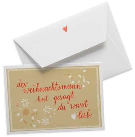 Hochwertige Design Grußkarten mit Umschlag & Glückwunschkarten aus ...