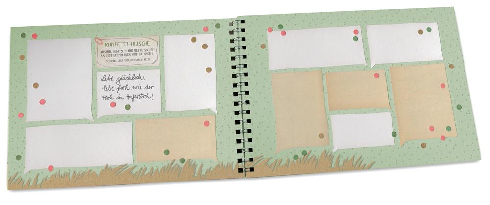 Freundebuch Für Kinder In Fröhlichem Design Aus
