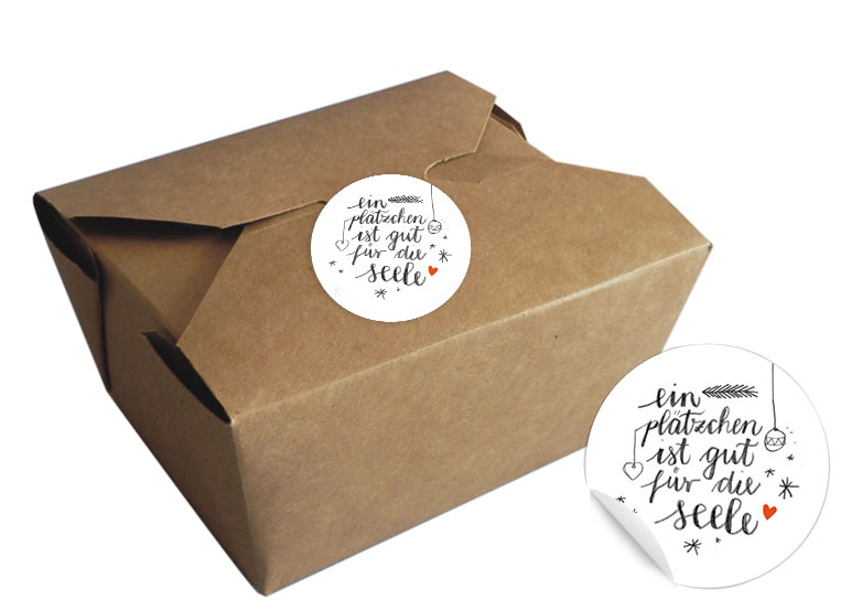 Braune Weihnachtskekse.12 Bioboxen Für Gebäck Kekse Und Cupcakes Geschenkboxen Eine Der