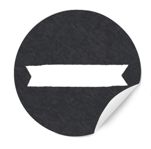 24 Blanko Etiketten Zum Selbst Beschriften Schwarz Weiß