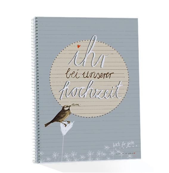 Hochzeitsgastebuch Mit Fragen Und Zum Malen Gross Ihr Bei Unserer