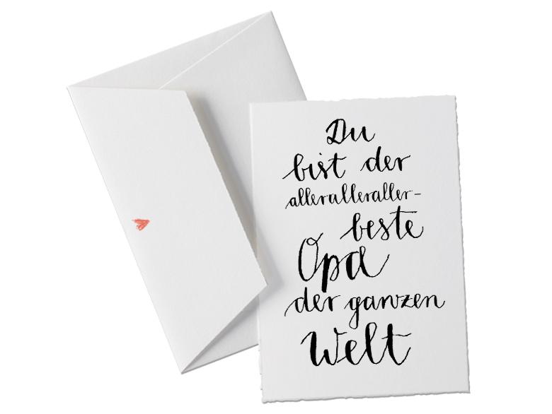 Buttenkarte In Schonem Design Kalligrafie Schwarz Weiss Fur Den