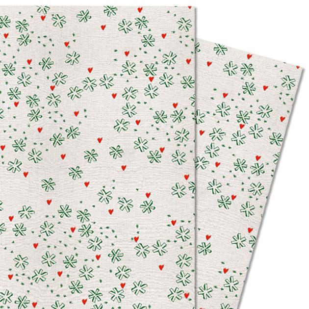 Geschenkpapier Weihnachten.Geschenkpapier Aus Recyclingpapier Für Weihnachten Sterne Grün