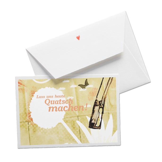 Geburtstagskarte Quatsch Machen Buttenkarte Mit Umschlag Eine