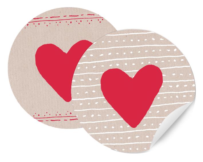 24x Sticker 4cm Geschenk Aufkleber rund Spruch Etiketten Gastgeschenk Danke