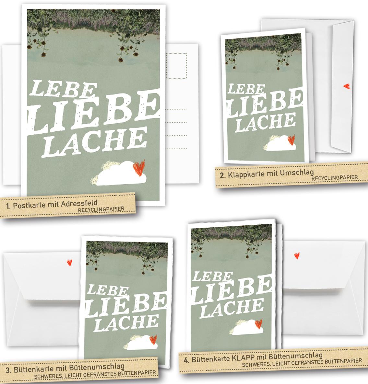 Lebe Liebe Lache Hochzeitskarten Zu Eurem Tag Eine Der Guten