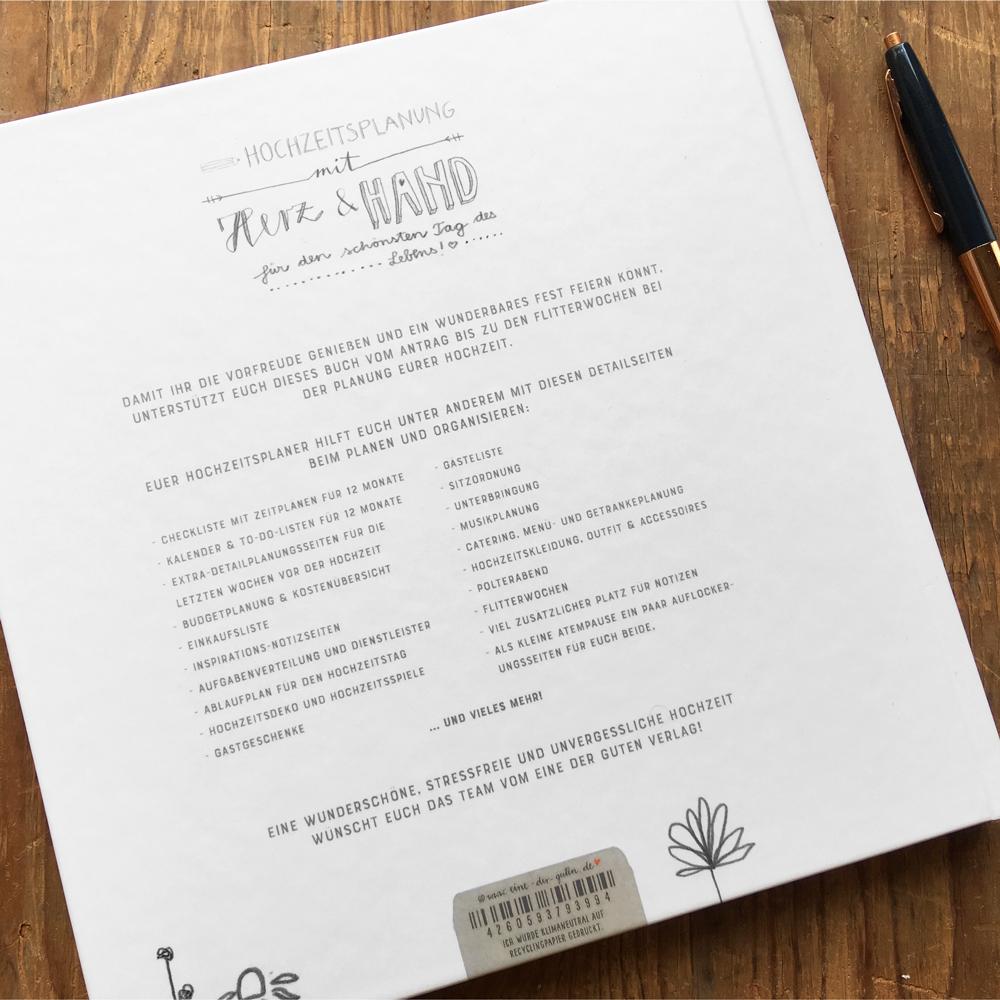 Das Beste Hochzeitsplaner Buch Buchtipp De