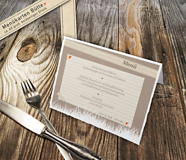 ... Hochzeitstafel-Hochzeitsdeko-Beige-Braun-Retro-Landhaus-Vintage-Leinen