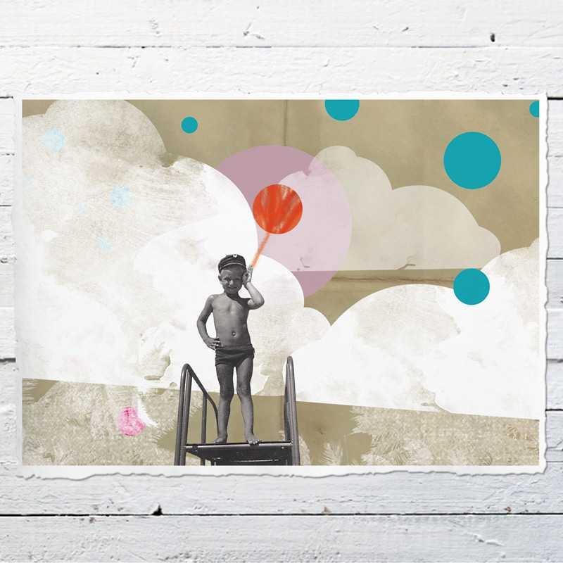 hallo kleiner matrose 01 druck kinderbild druck auf b ttenpapier oder leinwand eine der. Black Bedroom Furniture Sets. Home Design Ideas