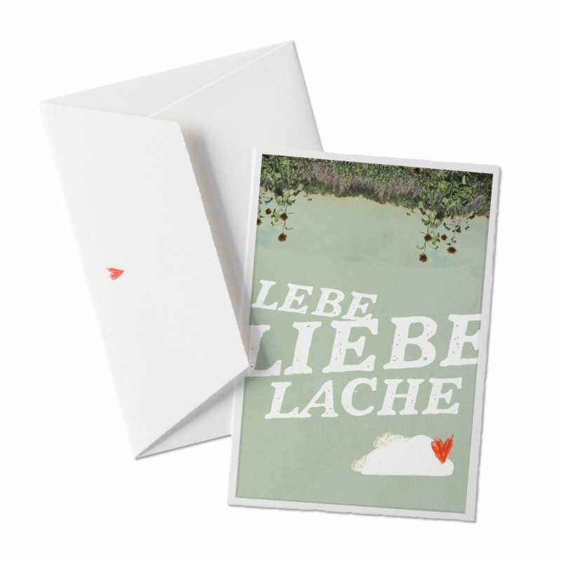 lebe liebe lache hochzeitskarten zu eurem tag eine der guten papeterie postkarten. Black Bedroom Furniture Sets. Home Design Ideas