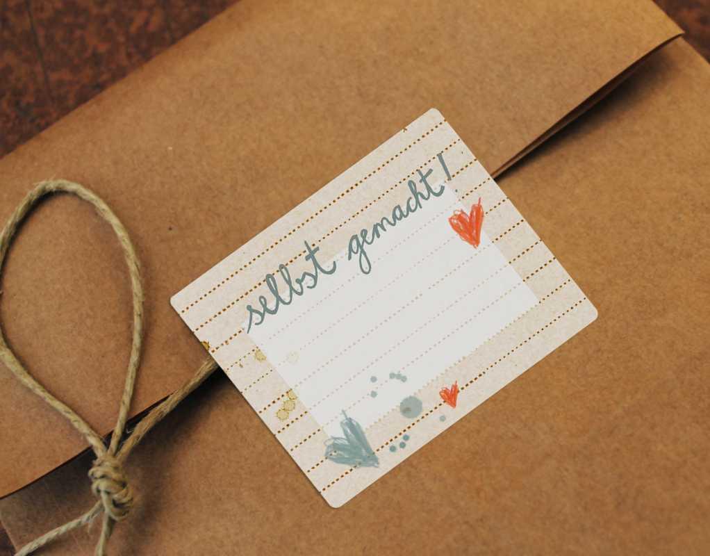 selbst gemacht 15 marmelade sticker rechteckig eine der guten papeterie postkarten. Black Bedroom Furniture Sets. Home Design Ideas