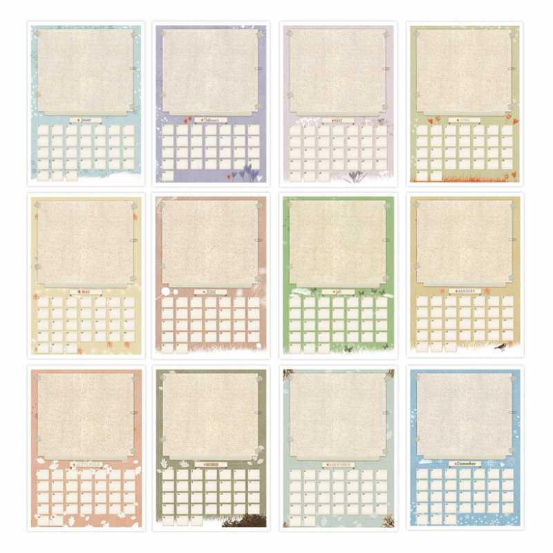 bastelkalender fotokalender kreativkalender immerw hrend mit flyer f r 2015 a4 eine der. Black Bedroom Furniture Sets. Home Design Ideas